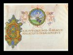 Decorazione del catasto dei beni di Grifonetto Baglioni (1489)