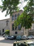 L'edificio dell'antico ospedale di S. Matteo, sede della Sezione di Spoleto