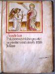 """Sezione di Spoleto: """"Annunciazione"""", emblema dell'eremo di S. Maria di Monteluco"""