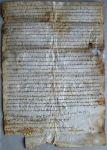 Sezione di Spoleto: donazione del vescovo Lupo al monastero di S. Paolo (1002)