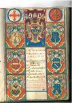 Sezione di Foligno, stemmi familiari dei componenti del Magistrato (1613)